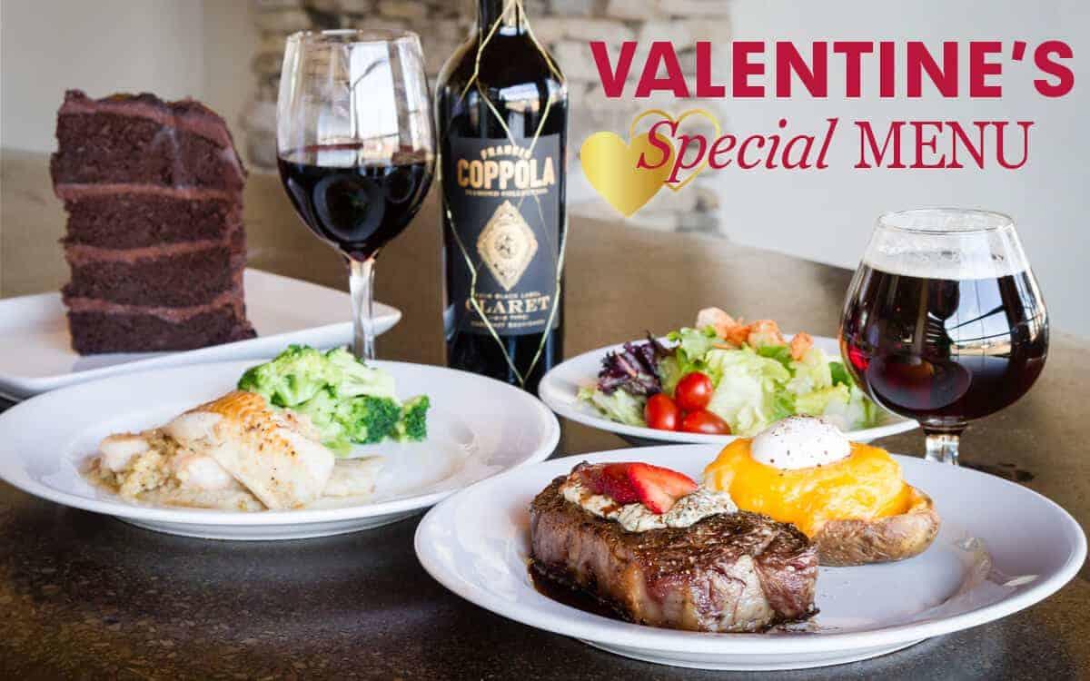 Valentine's Dinner Features at Holston's Kitchen